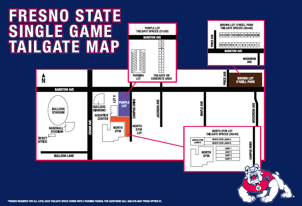 2015 Tailgate Map